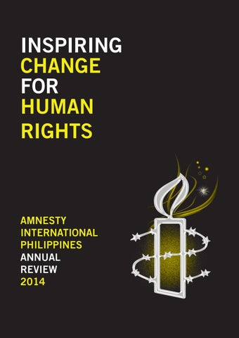 Amnesty International Philippines Annual Review 2014 by