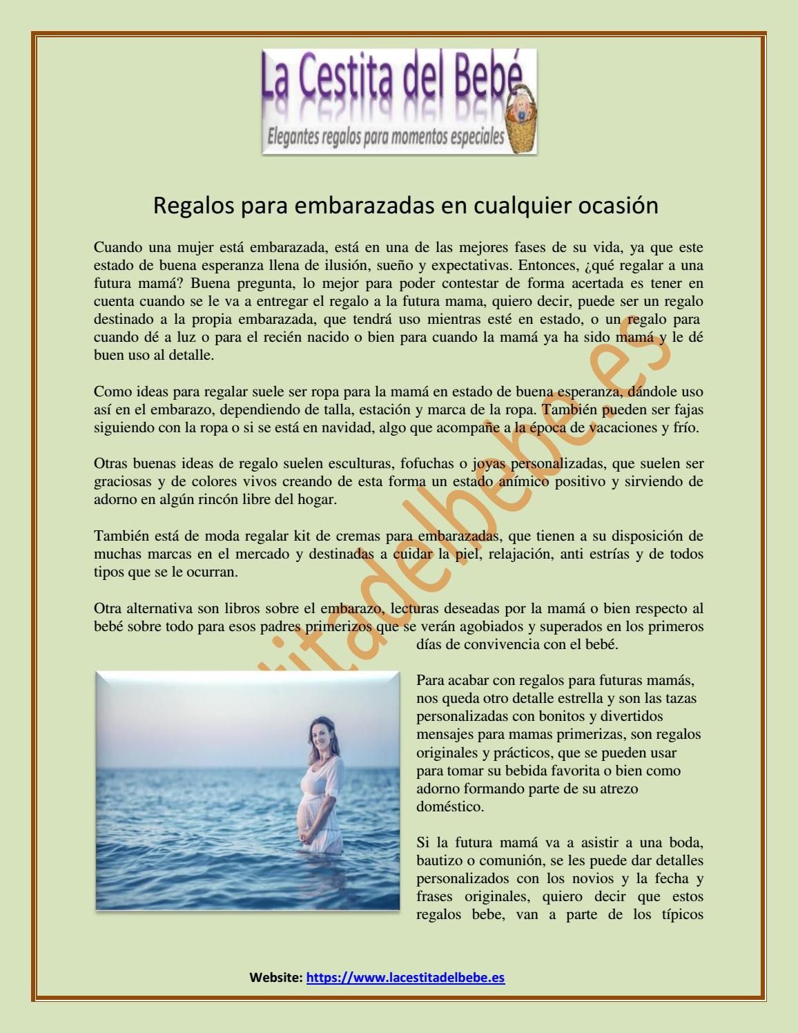 Regalos Originales Mama Primeriza.El Mejor Regalo Para Las Mujeres Embarazadas En Cualquier