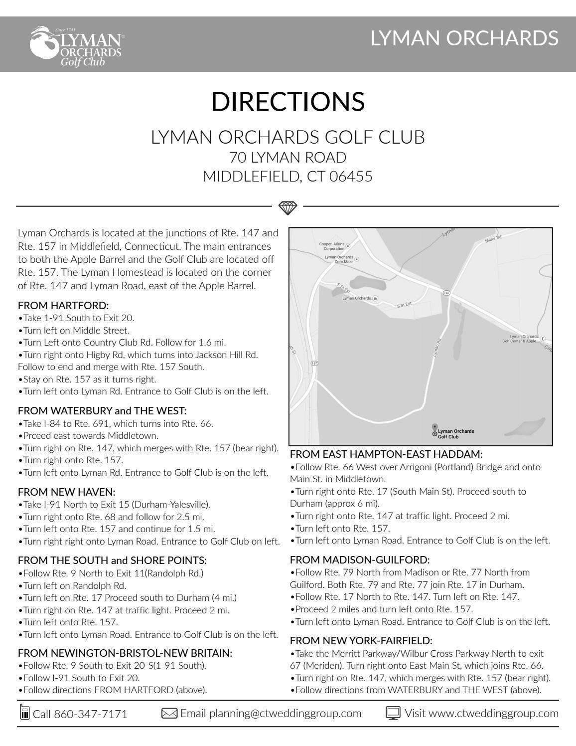 117 13018 lyman orchards golf club directions by Derek Brown - issuu