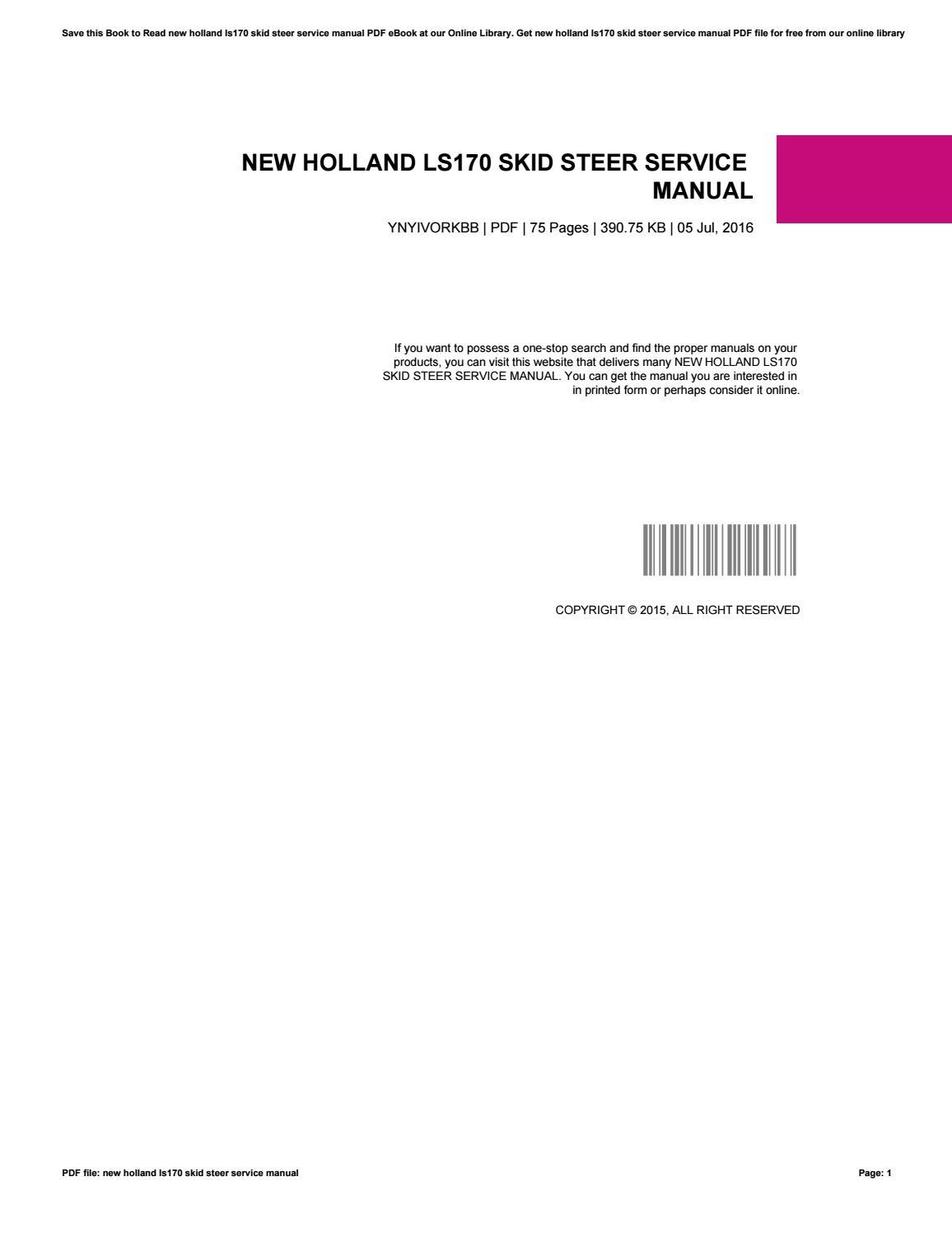 new holland manuals online ebook