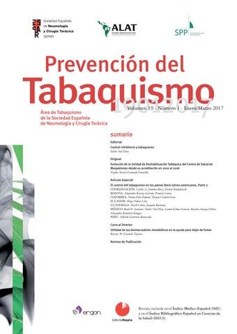 consecuencias psicologicas del tabaquismo pdf