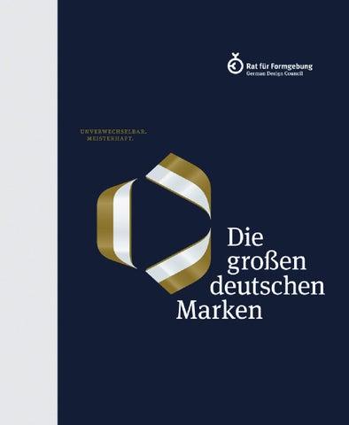 Unverwechselbar. Meisterhaft. Die großen deutschen Marken