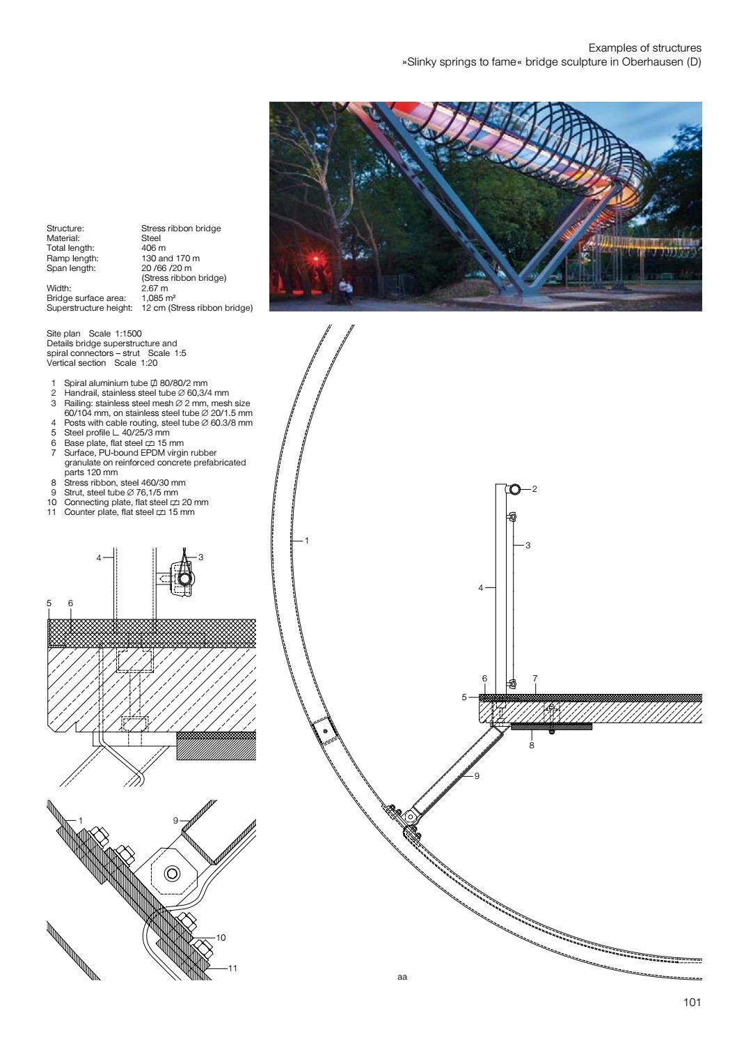 Pedestrian Bridges by DETAIL - issuu