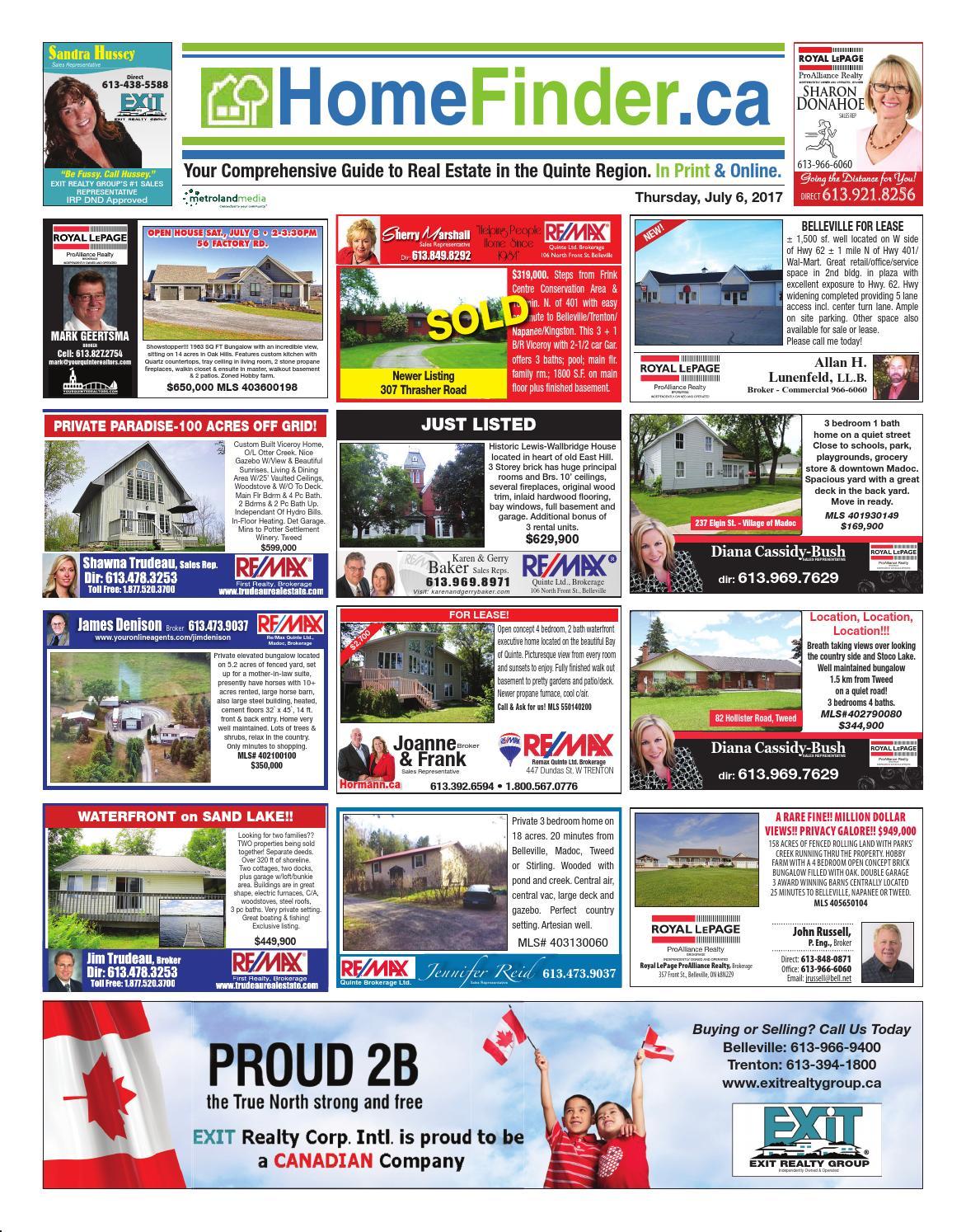 Homefinder070617 by Metroland East - Trent Hills Independent