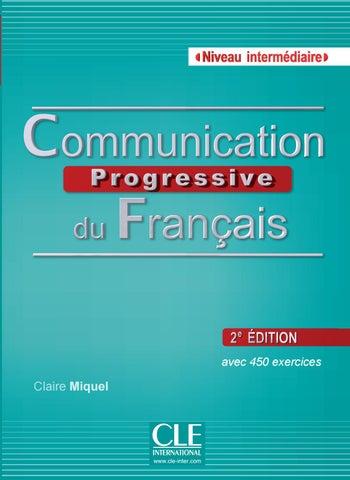 Communication Progressive Du Francais Intermediaire By Cle