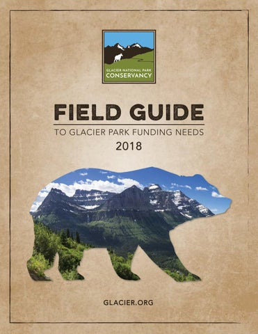 45442d9b59d Field Guide to Glacier National Park Funding Needs 2018 by Glacier ...