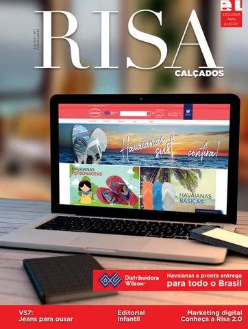 3b85e3121 Risa Calçados Ed. 71 by Revista Risa - issuu