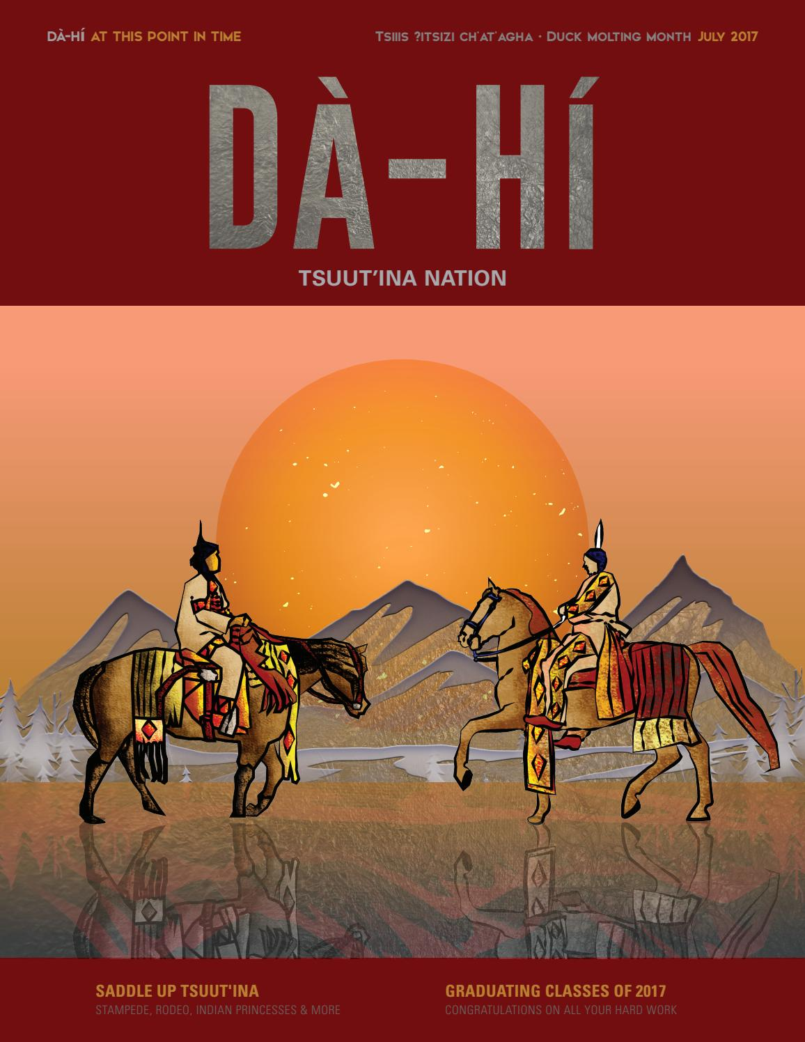 D 224 H 237 July By Tsuut Ina Nation Issuu