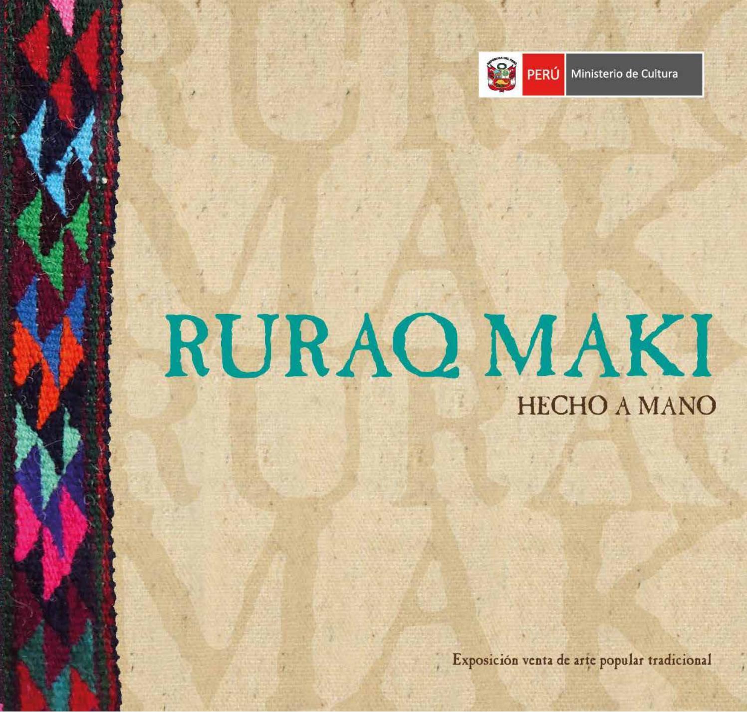 Ruraq Maki Julio-2017 by Ministerio de Cultura - issuu