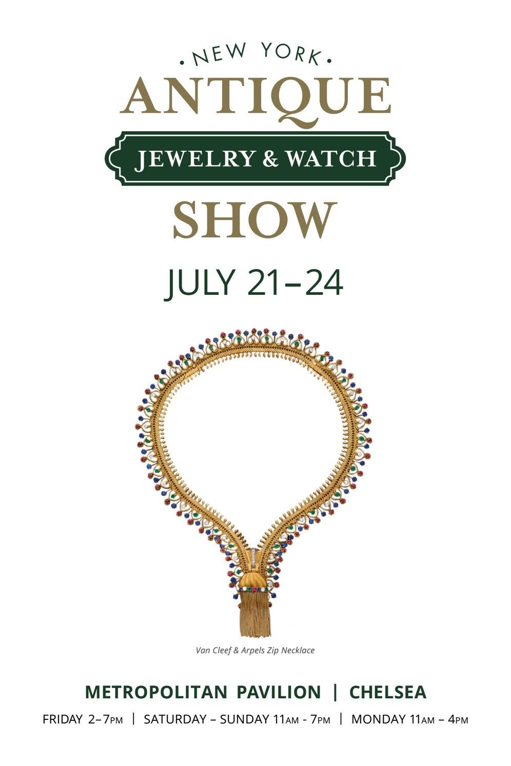 the new york antique jewelry watch show 2017 directory