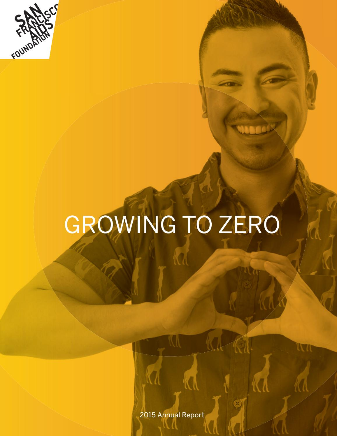 Annual Report 2015 San Francisco AIDS Foundation by San