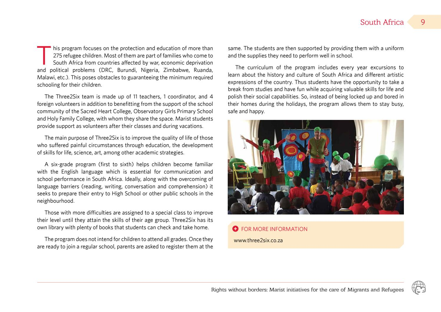 Rights without borders by Grupo Marista - issuu