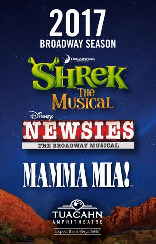 Shrek The Musical Disney Newsies Mamma Mia By Mills
