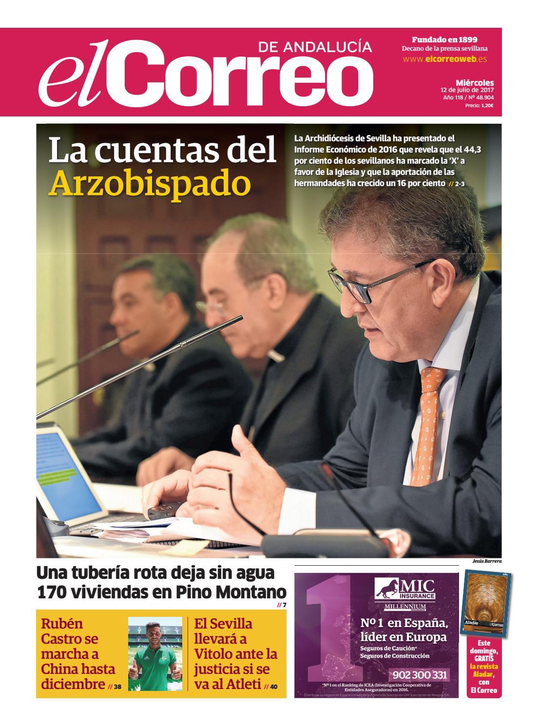 12 07 2017 El Correo de Andalucía by EL CORREO DE ANDALUCÍA S.L. - issuu 73837ac488f