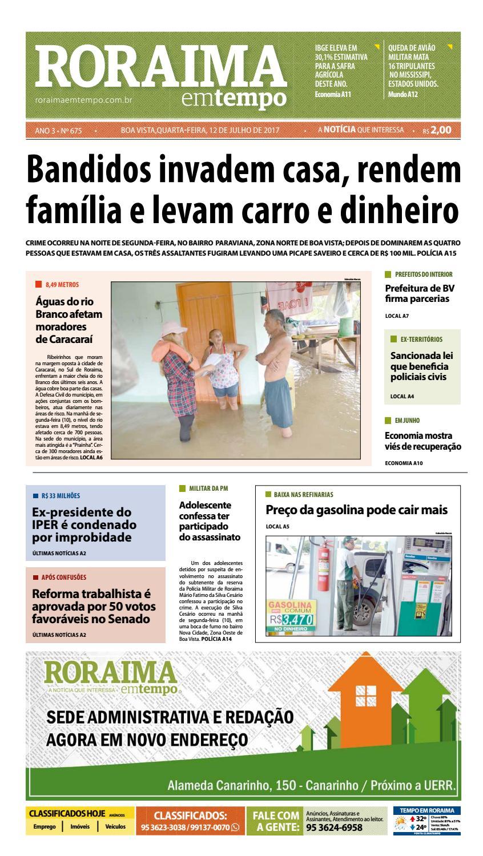 22e397641 Jornal roraima em tempo – edição 675 by RoraimaEmTempo - issuu