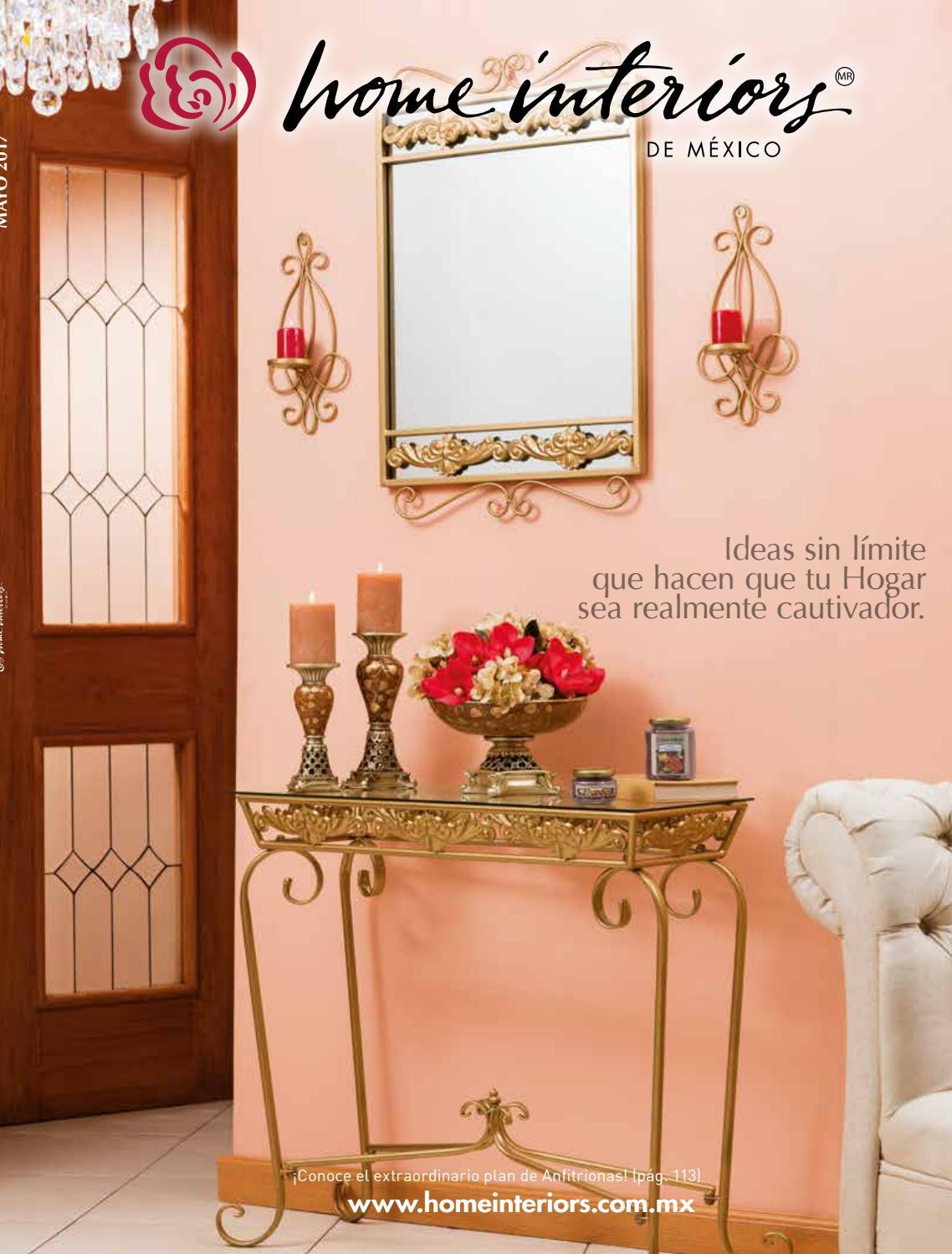 Cat Logo De Decoraci N Home Interiors Mayo 2017 By Margoth