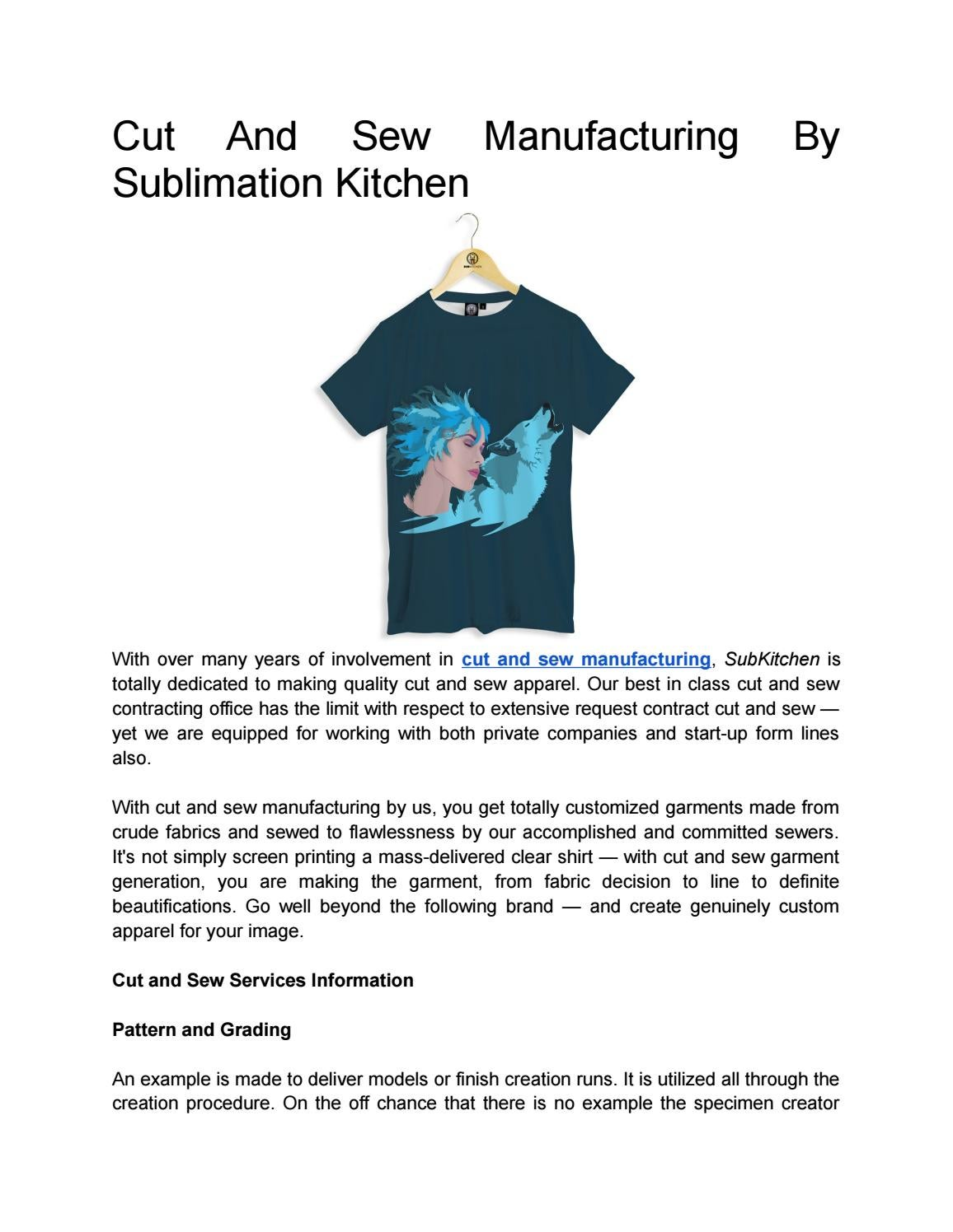 cut and sew sublimation manufacturing sublimation clothing manufacturers