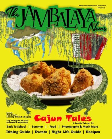 The Jambalaya News July 2017 Jeff Davis V Issue By Dawn