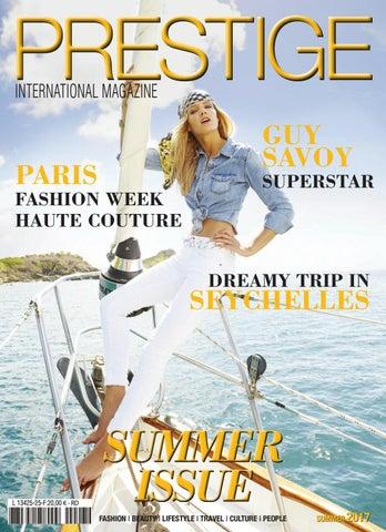 eb9011235ea1f4 PRESTIGE INTERNATIONAL MAGAZINE SUMMER ISSUE 17 by MARC ROUGEMOND ...