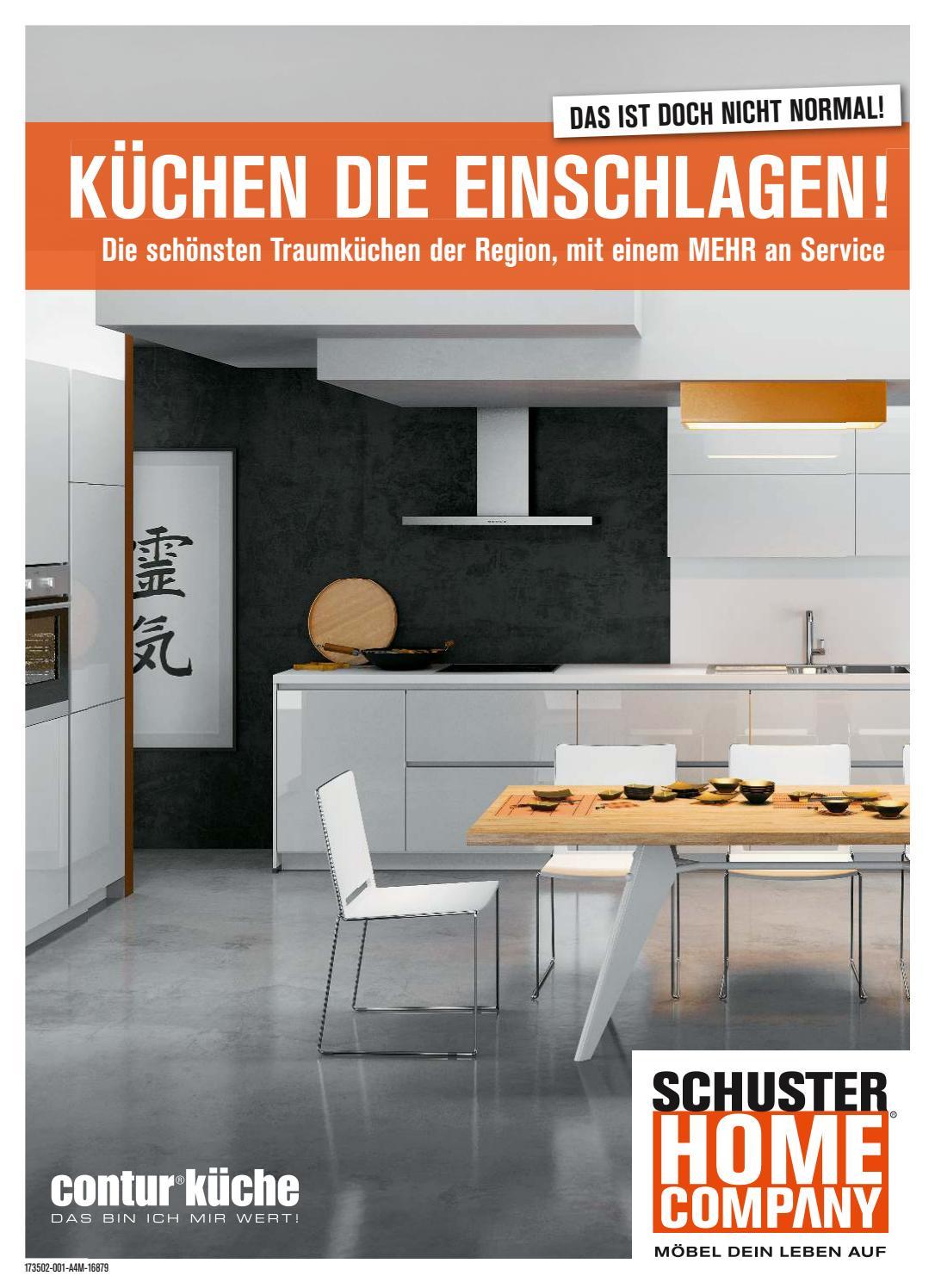 schuster home company contur k chen 2017 by perspektive werbeagentur issuu. Black Bedroom Furniture Sets. Home Design Ideas