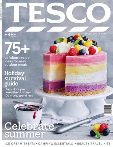 Tesco Magazine Julyaugust 2017 By Tesco Magazine Issuu