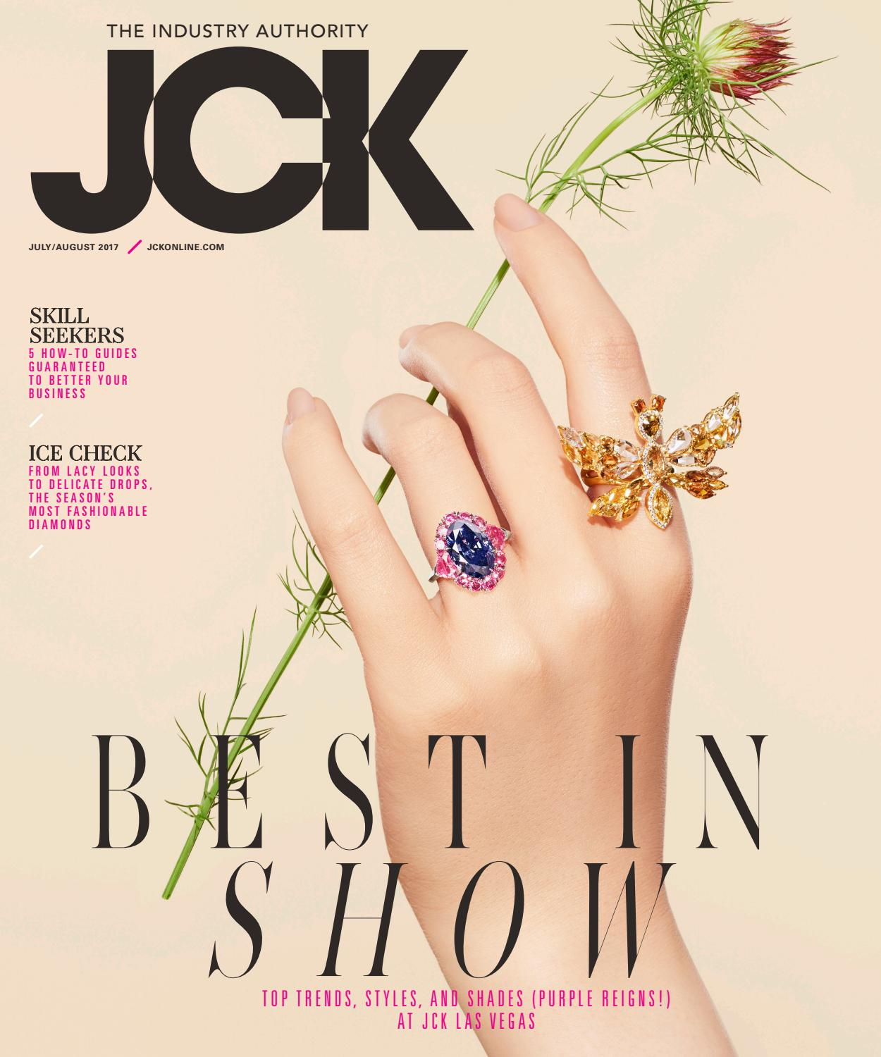b3841df452c47 JCK July/August 2017 Issue by JCK Magazine - issuu