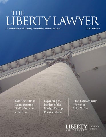 Liberty University School Of Law Lawyer 2017 By