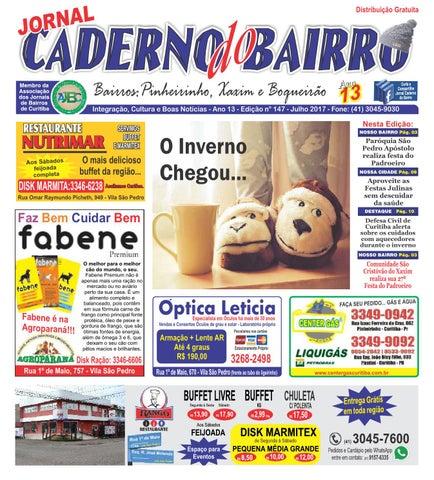 Caderno do Bairro edição Xaxim, Pinheirinho e Boqueirão julho 2017 ... c9a028ae32