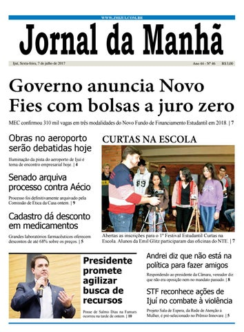 e90b77d992eea Jornal da Manhã - Sexta-feira - 07-07-17 by clicjm - issuu