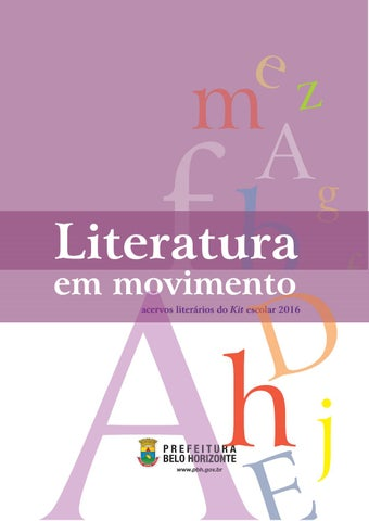 Guia 600 livros disponivel para download by instituto alfa e beto literatura em movimento acervos literrios do kit escolar 2016 fandeluxe Choice Image