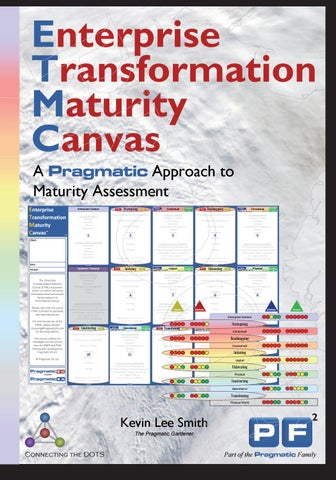 Enterprise Transformation Maturity Canvas™ - A Pragmatic Approach to