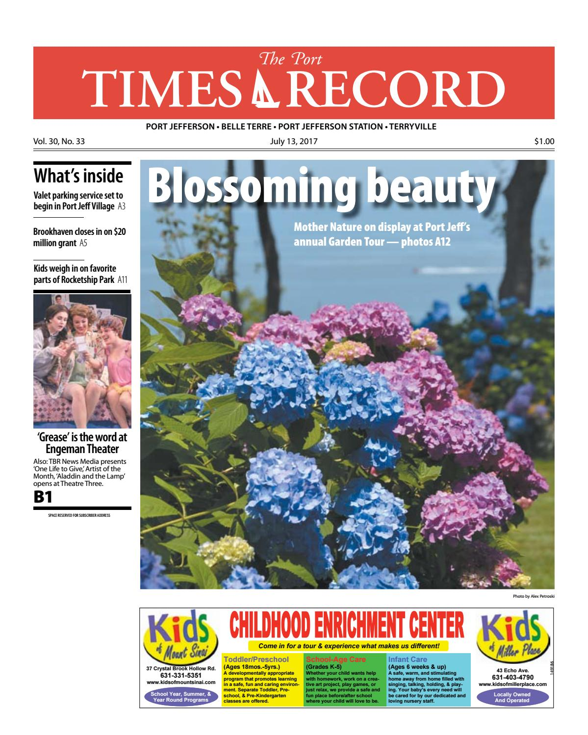 The Port Times Record - July 13, 2017