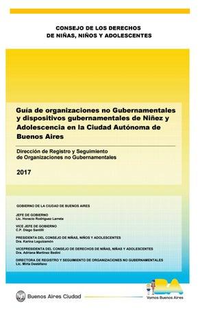 e2c97b67a13 Guía de ONGs y dispositivos gubernamentales de Niñez y Adolescencia ...