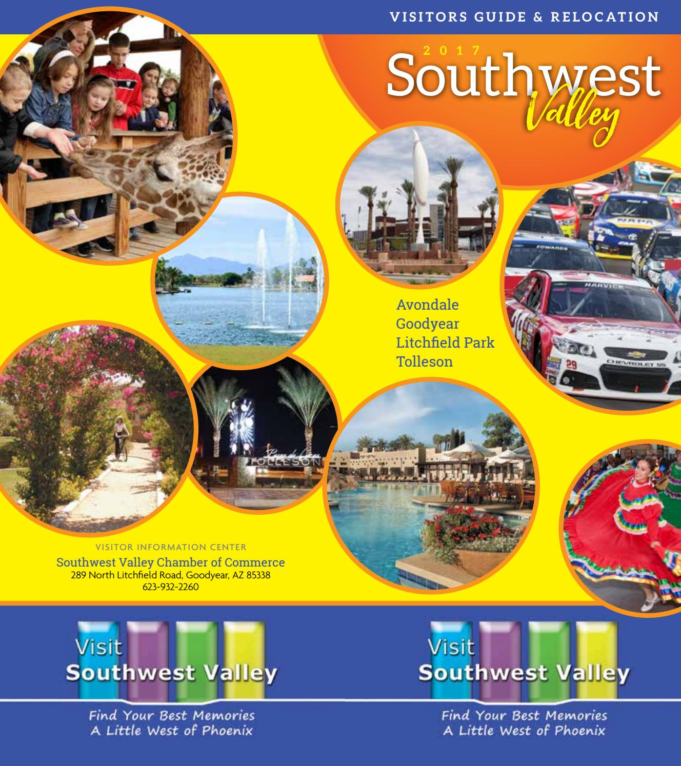 dfdd74902 Southwest Valley Visitors Guide & Relocation by ROX Media Group - issuu