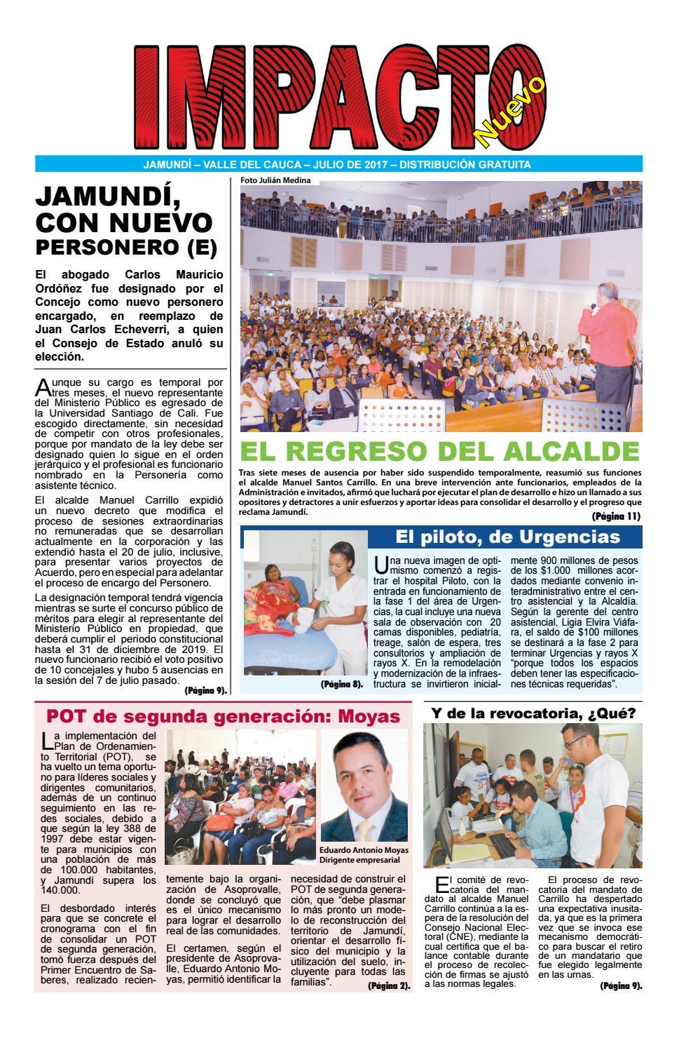 IMPACTO NUEVO JULIO by IMPACTO NUEVO - issuu