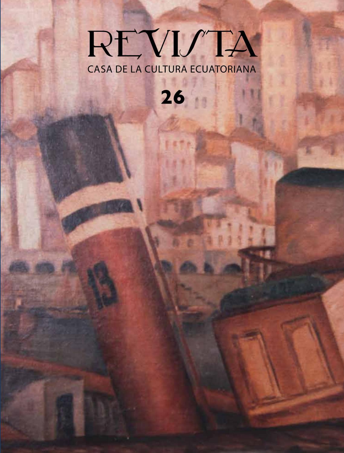 Revista de la Casa de la Cultura N26 by Revistas de la Casa de la ...