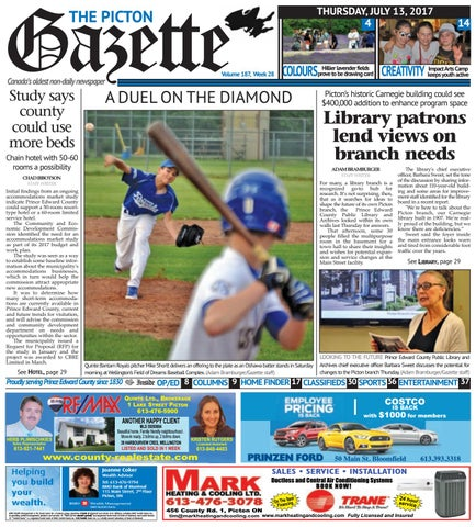 61699cfa8 Picton Gazette July 13 by The Picton Gazette - issuu