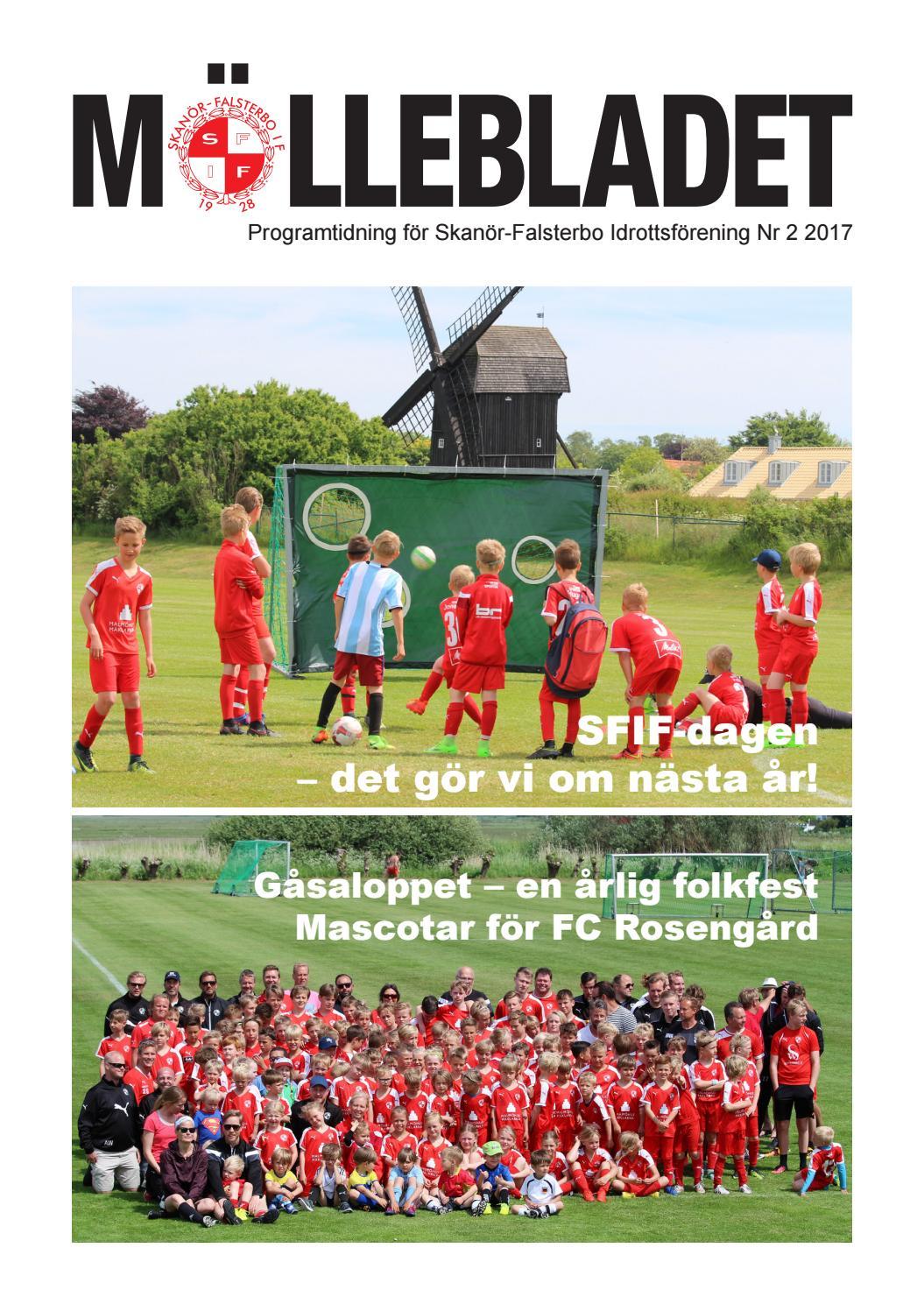 Möllebladet nr 2 2017 SFIF by Skanör Falsterbo IF SFIF