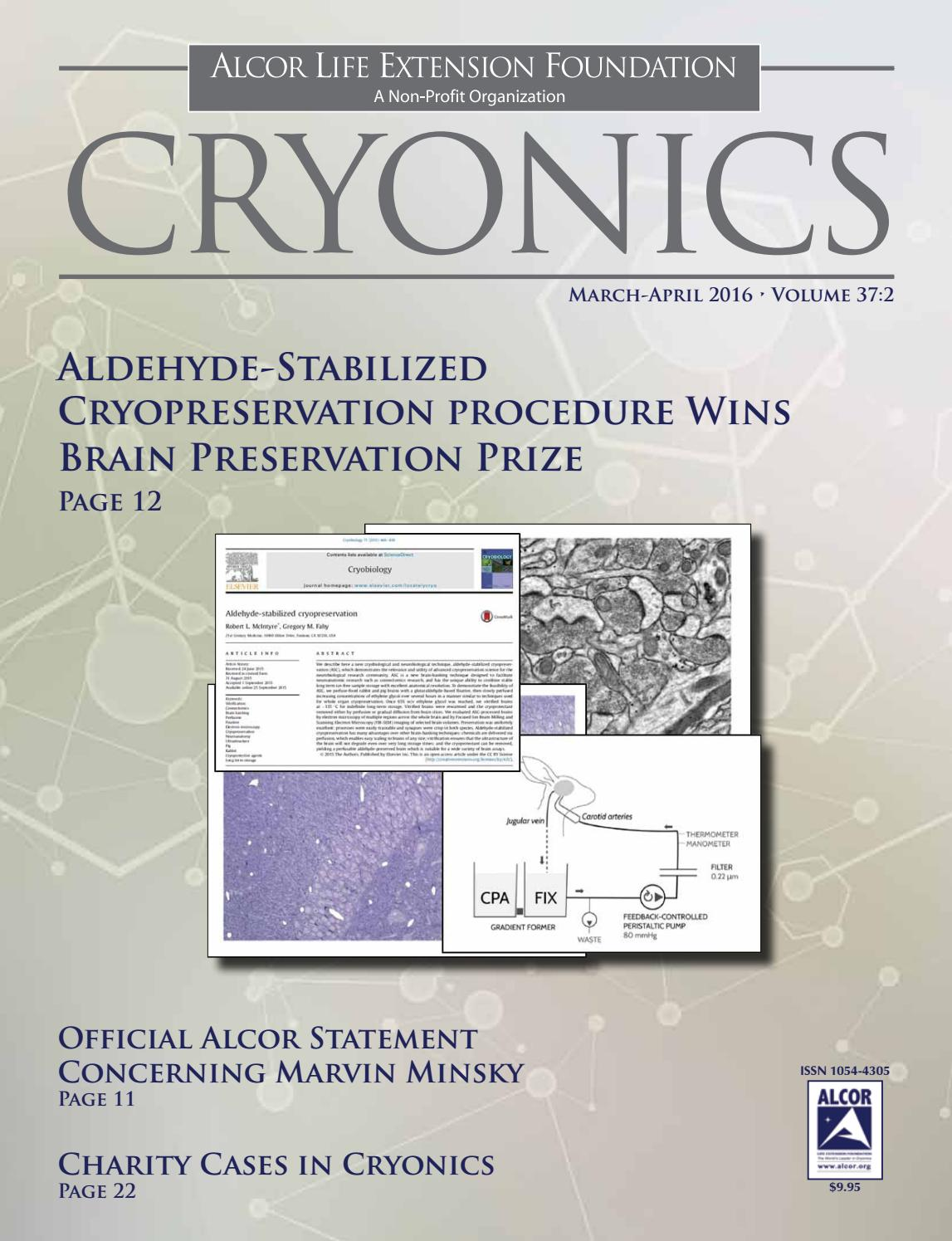 Cryonics 2016 March April By Alcor Life Extension Foundation Issuu Repairing Circuit Board Manipulator Boards Maintenance View Repair