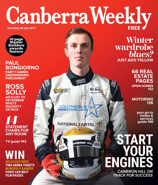 7c9df3bac 06 July 2017 by Canberra Weekly Magazine - issuu
