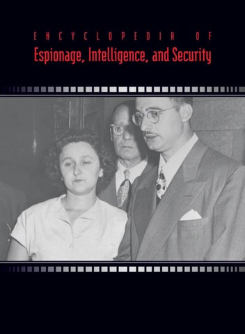 Encyclopedia Of Espionage Intelligence And Security Part 1 Of 3 By