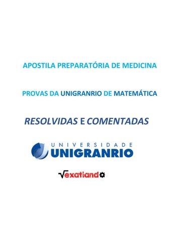 Unigranrio universidade do grande rio prof. José de souza herdy.