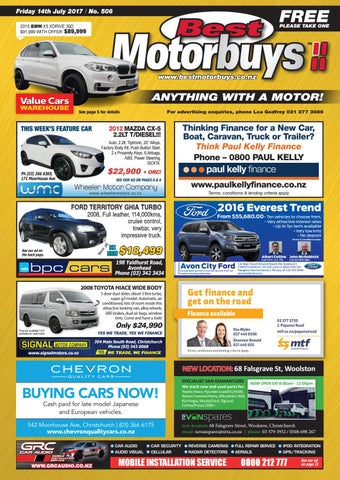 Best Motorbuys 14 07 17 By Local Newspapers   Issuu