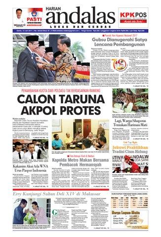 Epaper andalas edisi kamis 13 juli 2017 by media andalas - issuu 494b980aa8