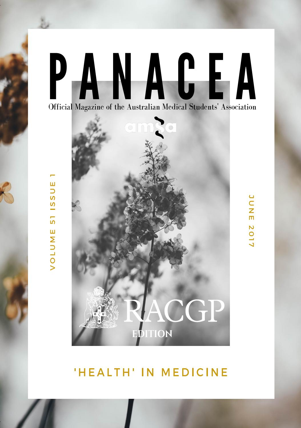Executive Function Not Panacea For >> Amsa Panacea Volume 51 Issue 1 2017 By The Australian Medical