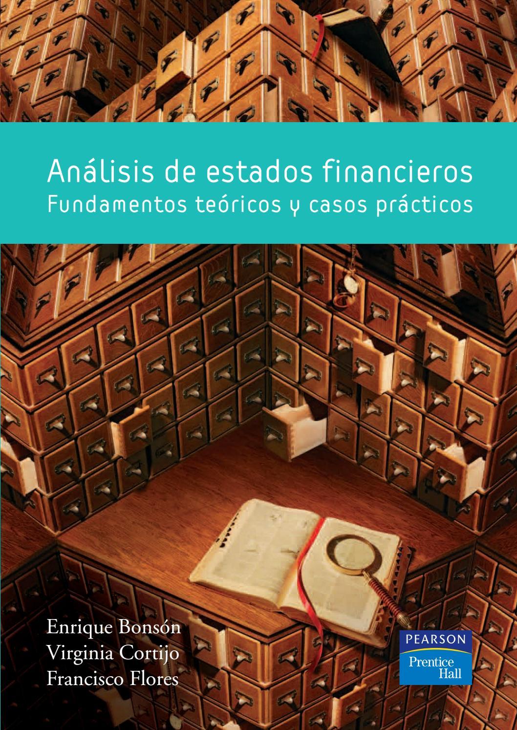Análisis De Estados Financieros Enrique Bonzon By Dora Elva