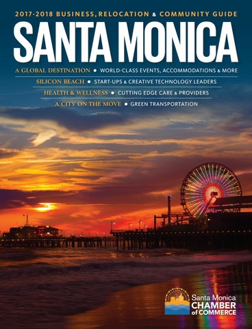2017-2018 Santa Monica Business, Relocation & Community Guide by