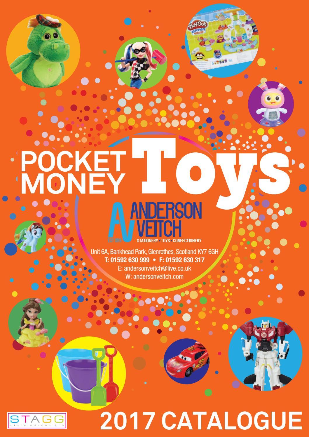 stagg pocket money toys av 2017 by stagg distributors issuu