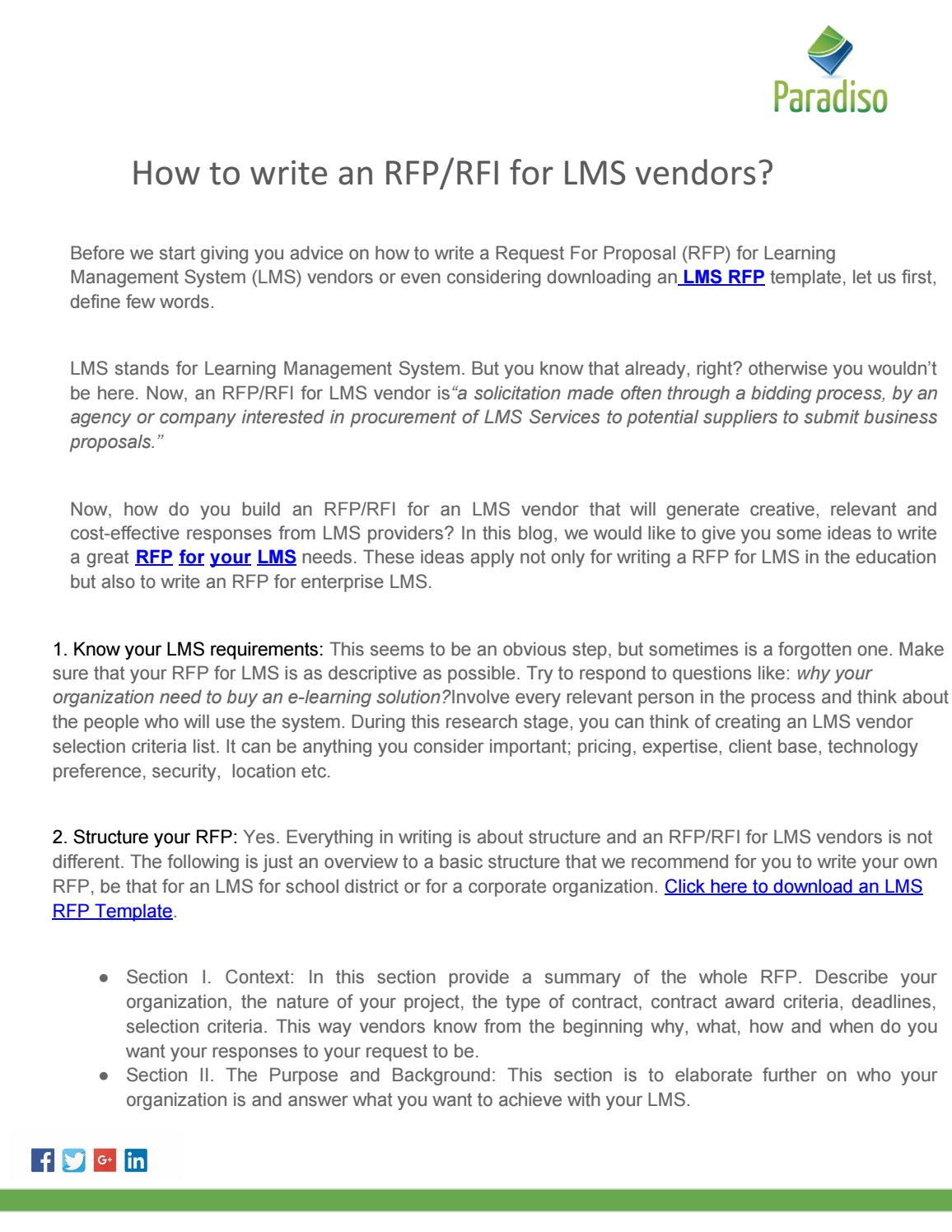 Lms Rfp By Akrati Srivastava Issuu
