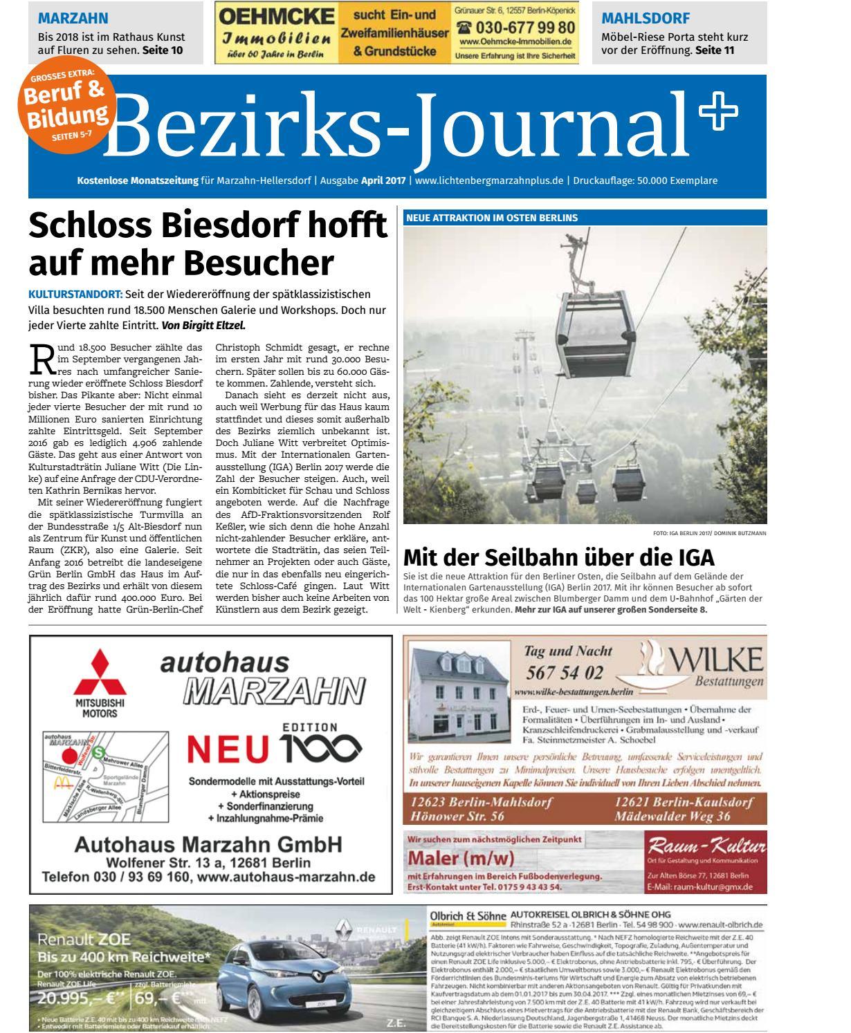 Bezirks journal marzahn hellersdorf april 2017 by Bezirks-Journal ...